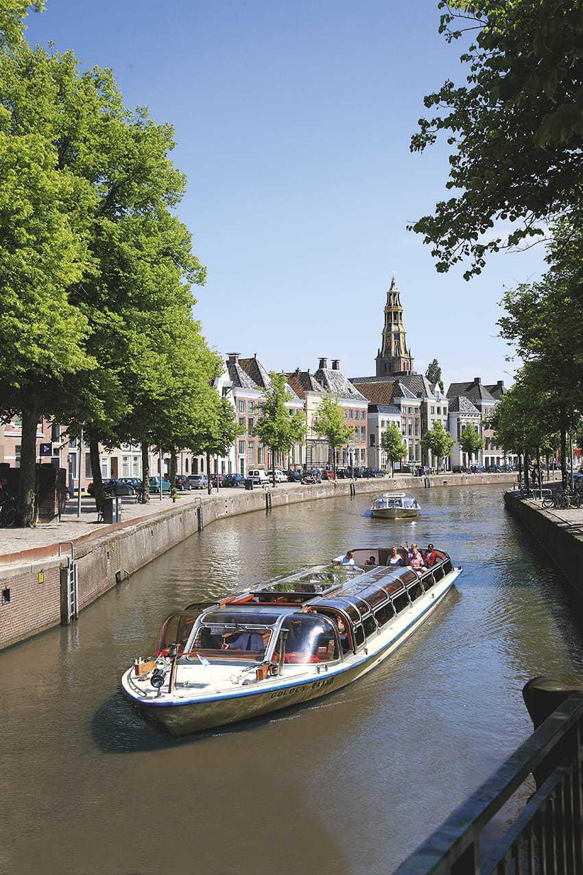 Giro turistico in battello Groningen