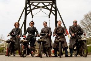 Solex riding Groningen